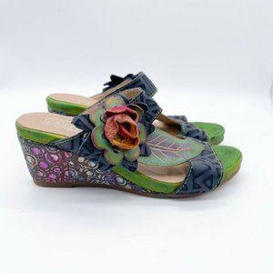 Spring Step L'Artiste Shayla Wedge Heel Sandals
